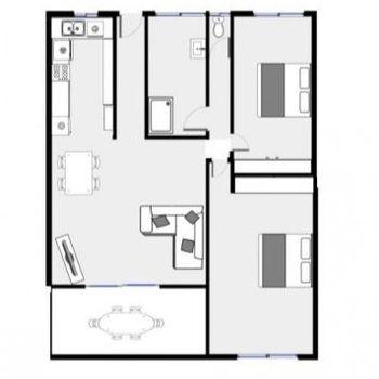 Approximate floor plan Instarent